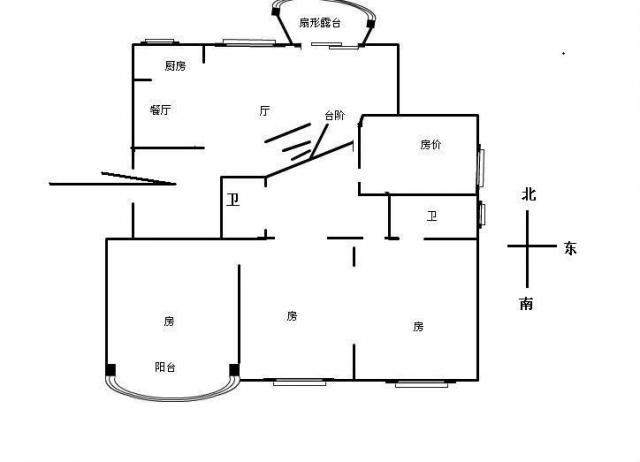 框架结构电梯房!全明