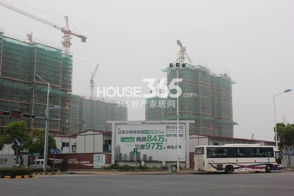 雅戈尔太阳城缘邑实景图1(7月摄)