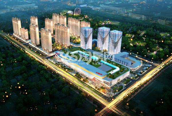 车城万达广场 项目鸟瞰图