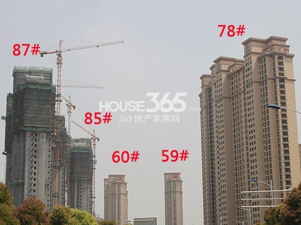 大名城59、60、78、85、87#工程进度(2015.4)