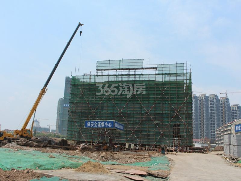 禹洲赛虹桥G55地块实景图(8.7)