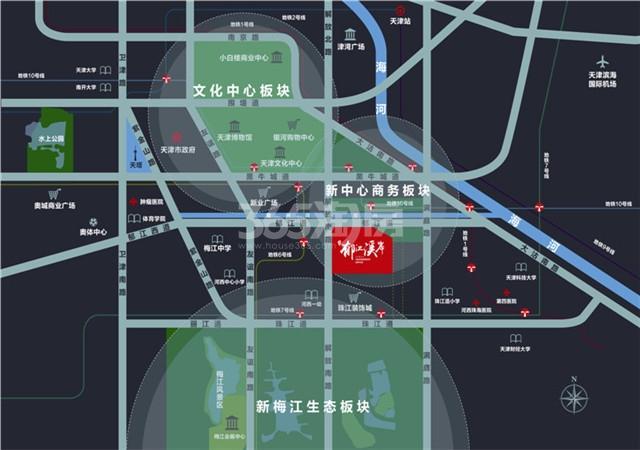 天物郁江溪岸交通图