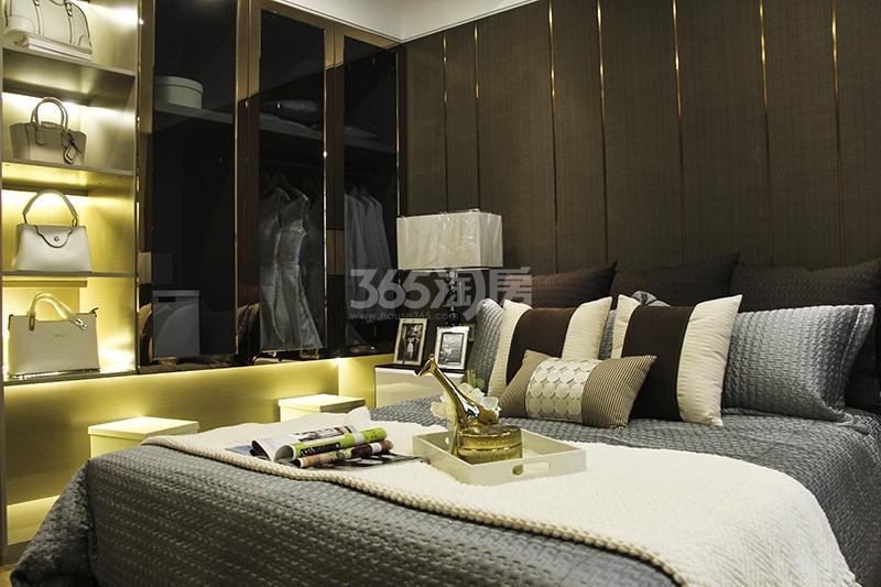 苏宁悦城三期121平样板间卧室