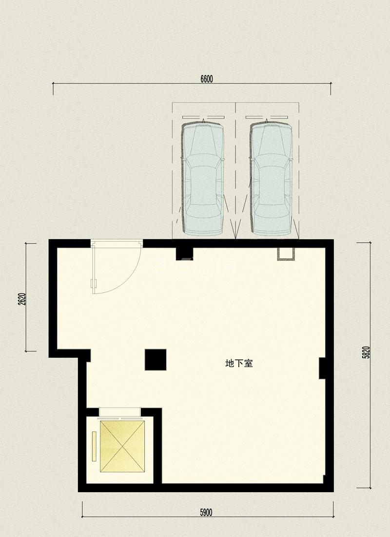 万科坤和玉泉上叠院晓礼院3单元201——地下室