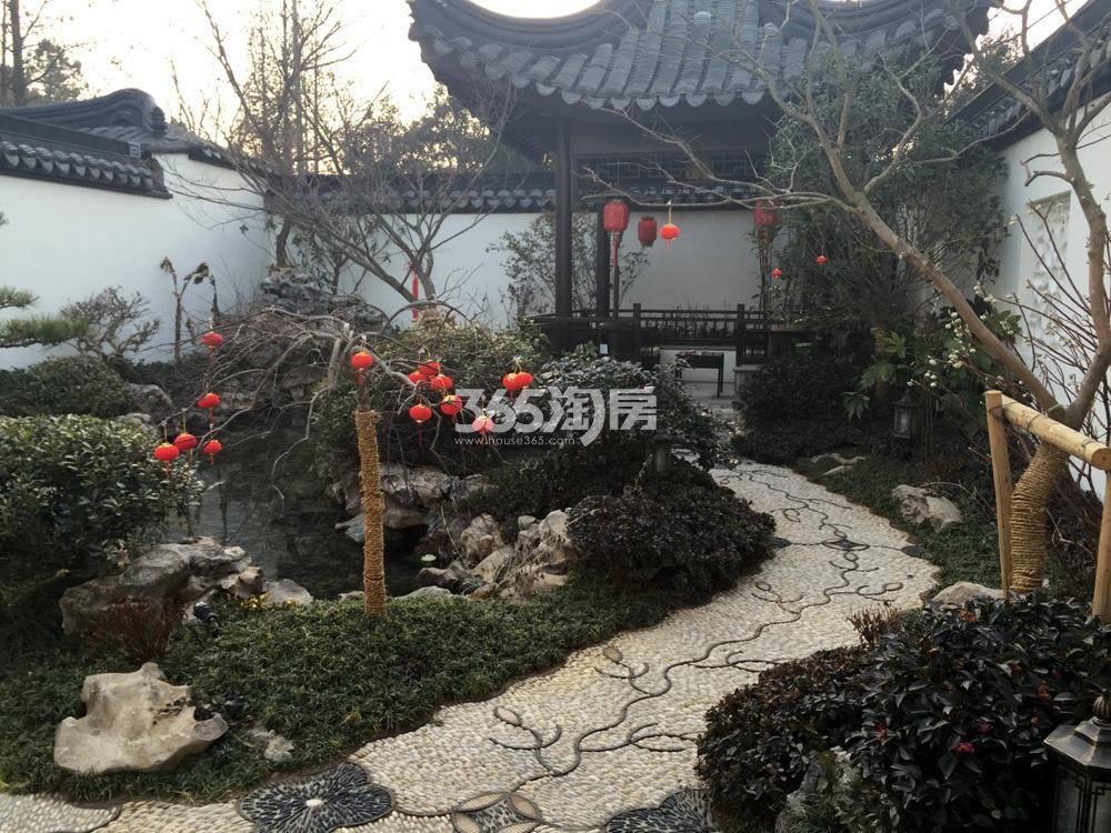 绿城南京桃花源营销中心实景图(1.20)