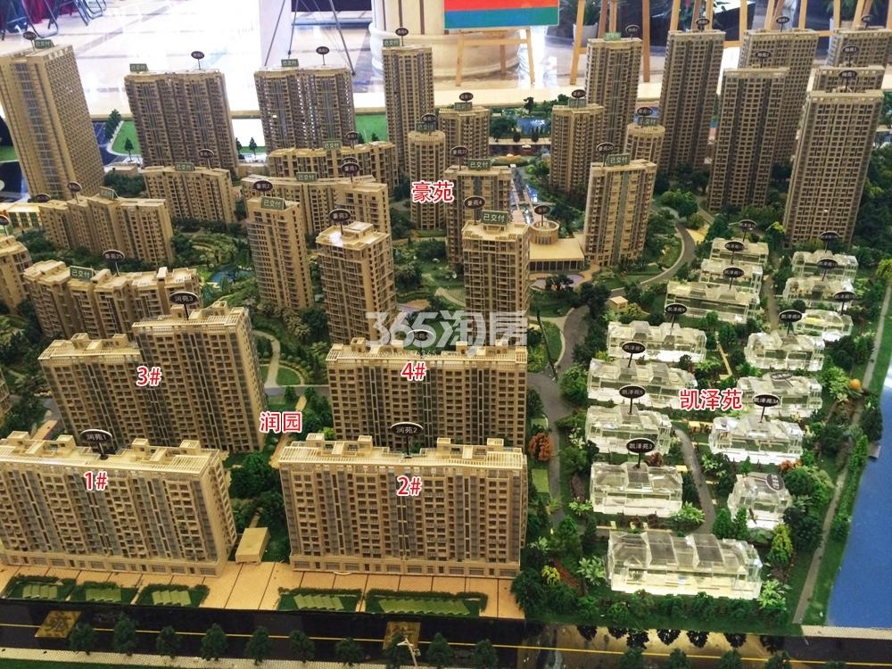 东海水景城实景图