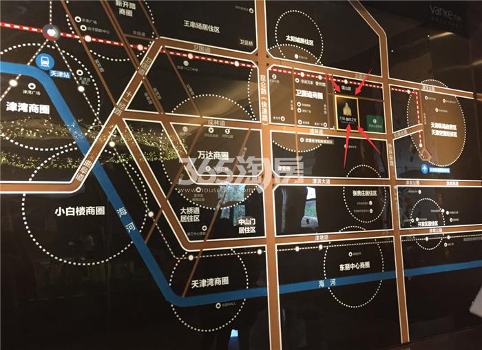 万科城市之光交通图
