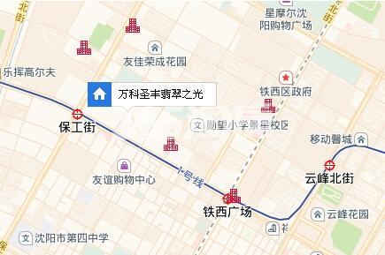 万科圣丰翡翠之光交通图