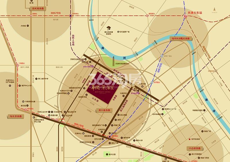 华润紫阳里交通图