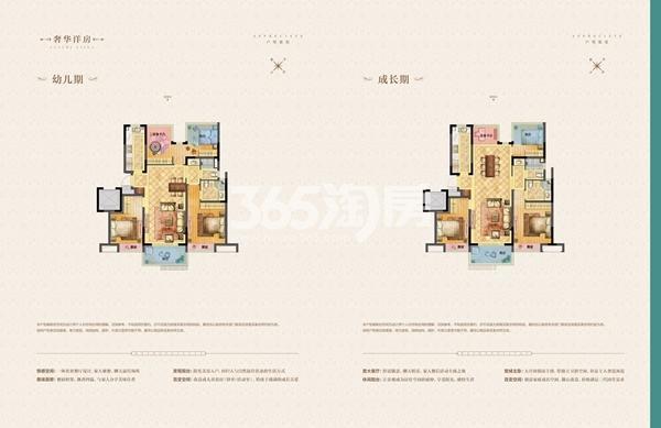 荣里洋房113㎡户型图