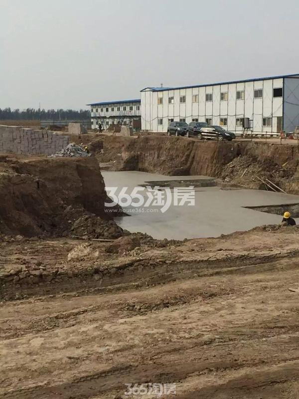后营新村・温泉小镇工程进度(2016.11.06)