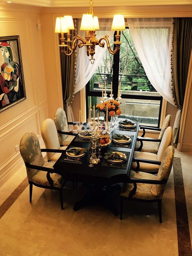 银亿东城165㎡联排别墅样板间餐厅