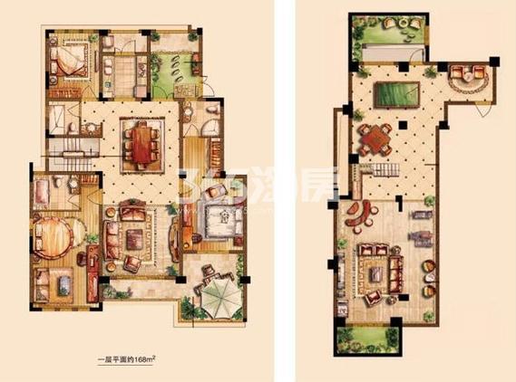 金科世界城洋房290平户型图