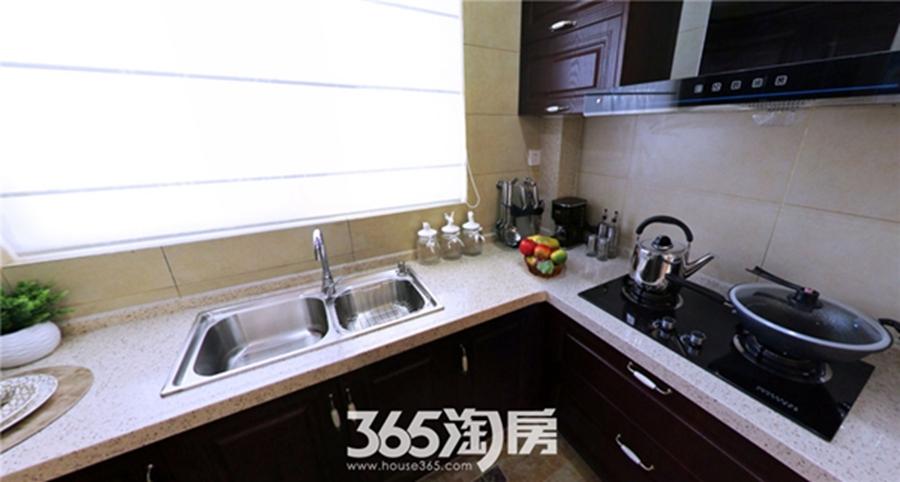 东方蓝海B1户型约115㎡样板间-厨房