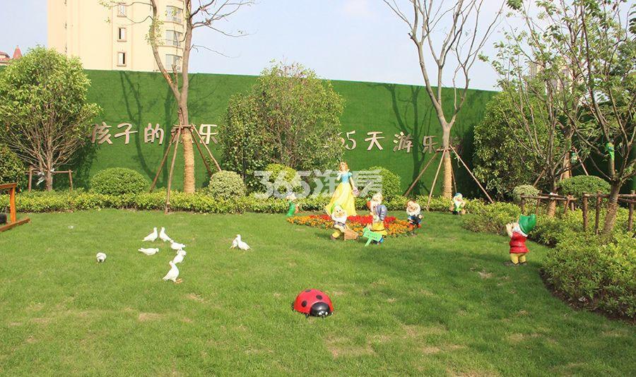中南公园物语实景图