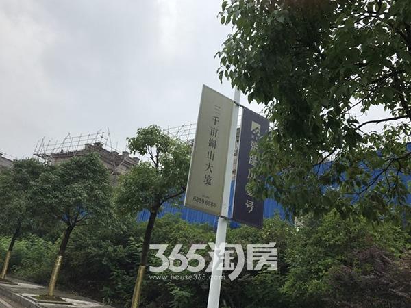 美好紫蓬山壹号工程进度实景图(2017.6.21)