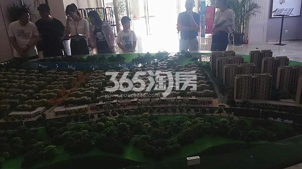 宝龙观邸售楼处实景图(7.4)