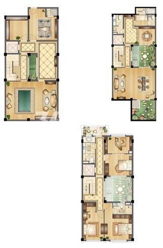 B-1户型 9室4厅6卫1厨