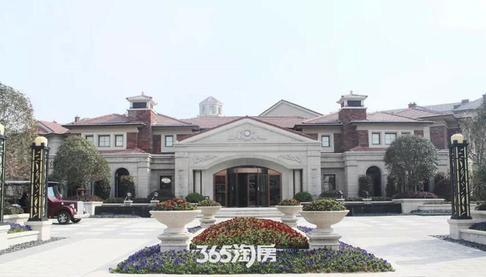 保利西山林语小区内部别墅区实景(2017.8)