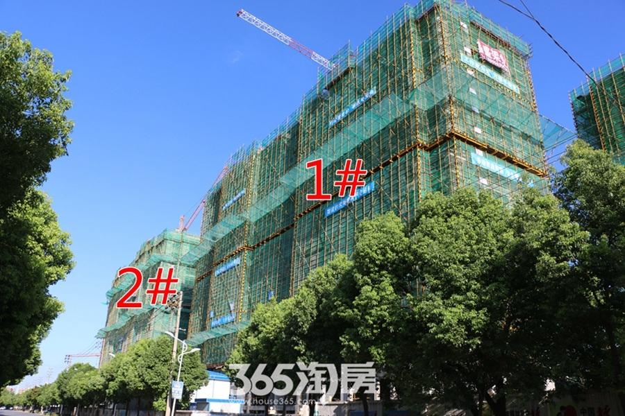 东方蓝海2#1#施工中(2017.8摄)
