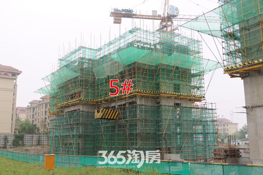 卓瑞北宸龙湖湾5#正在施工(2017.9摄)