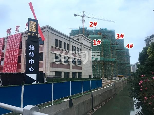 锦熙府1-4#楼工程进度实景图(2017.9摄)