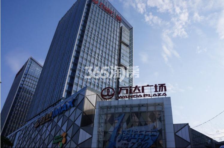 天珑广场周边配套万达广场实景图(9.29)
