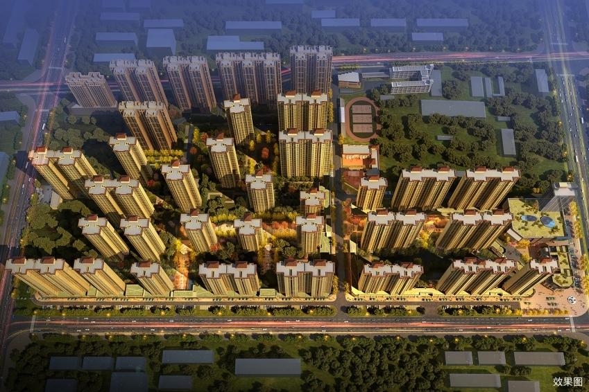 金科世界城鸟瞰图