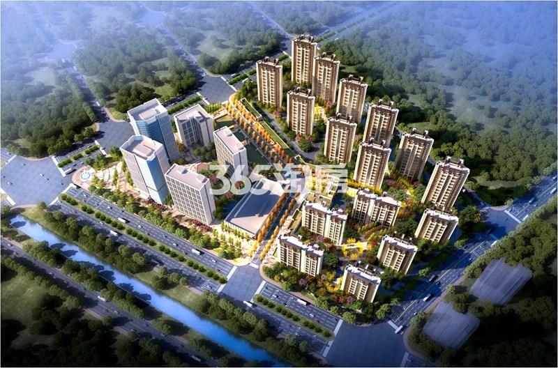 绿地国际产业新城莫兰迪公馆